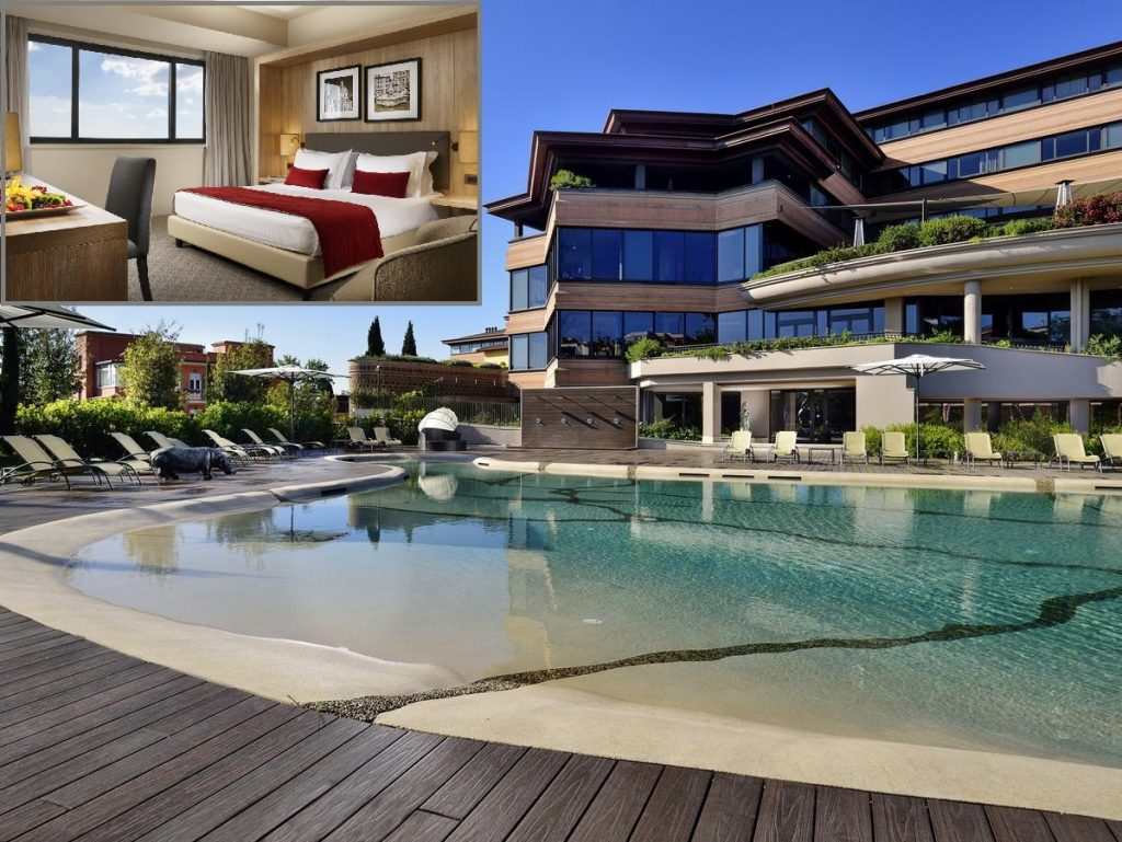hotell med basseng i roma